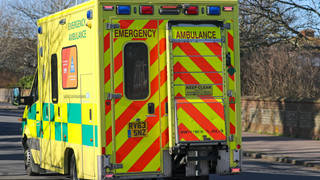 Four children have been taken to hospital after eating the sweets