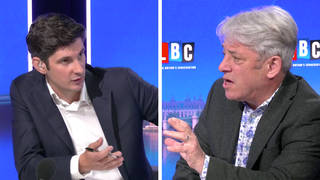 """Former House of Commons speaker John Bercow said """"the truth matters"""" amid Tory sleaze allegations and called for a Covid inquiry in an interview with LBC's Swarbrick on Sunday."""