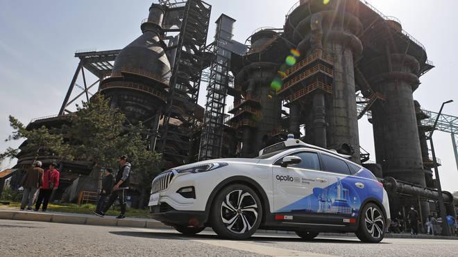 China Driverless Taxi