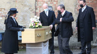 Funerals are currently limited to 30 people in England