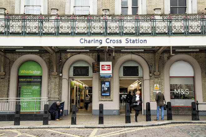 Charing Cross station has been evacuated over reports of a suspicious package