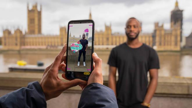 Snapchat's new Speech to Street lens
