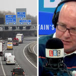 Smart motorways are an accident waiting to happen, caller tells LBC