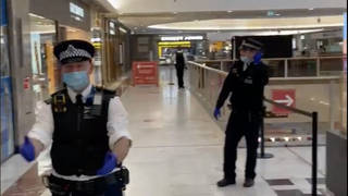 Police have evacuated Brent Cross shopping centre after a fatal stabbing