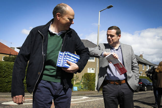 Conservative candidates and activists are spending Wednesday delivering the last round of leaflets
