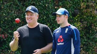 MacGill, left, played 44 Tests for Australiabetween 1998 and 2008