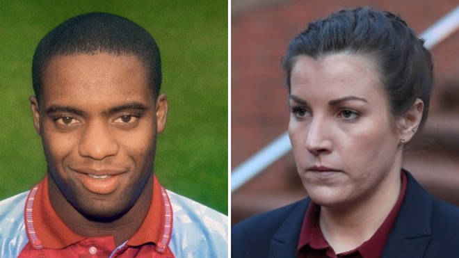 PC Mary Ellen Bettley-Smith is accused of assaulting ex-football star Dalian Atkinson moments before his death