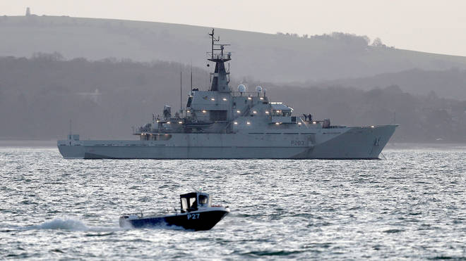 Britain has sent two Royal Navy patrol vessels to Jersey amid the dispute with France