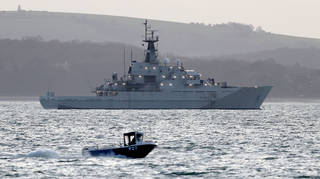 (File photo) Britain has sent two Royal Navy patrol vessels to Jersey amid the dispute with France
