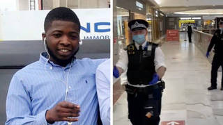 Gedeon Ngwendema, 21, has been named as the victim of a stabbing in Brent Cross shopping centre on Tuesday