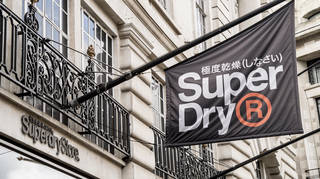 Super Dry saw sales return to growth in the quarter to April