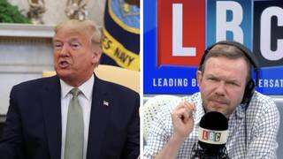 James O'Brien schools caller who opposes social media regulation after Trump's Facebook ban