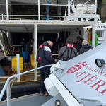 Jersey officials held talks with French fisherman using two boats