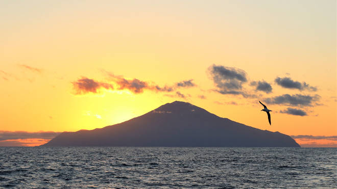 Tristan da Cunha can only be reached via a six-day boat ride from Cape Town