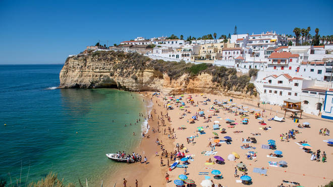 Bookings for Portugal have surged after it was placed on the UK's green travel list
