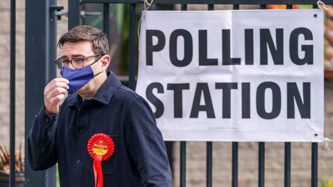 Andy Burnham has been reelected