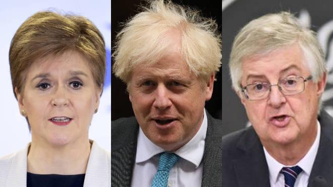 Boris Johnson invited Nicola Sturgeon and Mark Drakeford to a summit