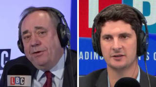 Alex Salmond told Tom he thought it was the BBC's fault for his party's poor election performance