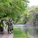 The infant was found in the Grand Union Canal