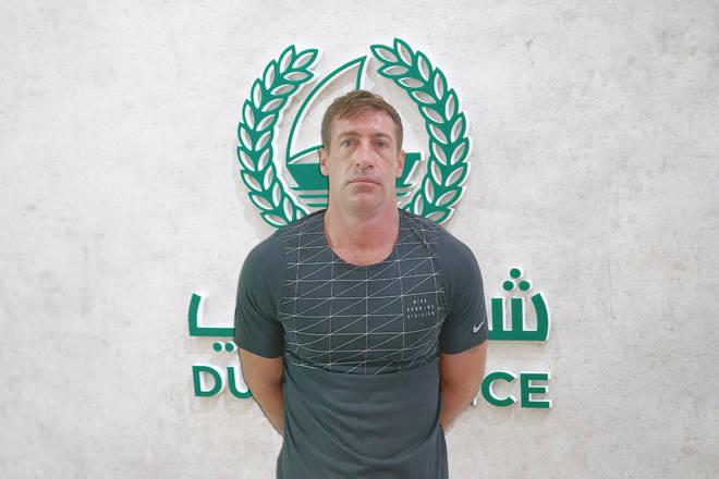 Michel Moogan was arrested in Dubai after eight years on the run.