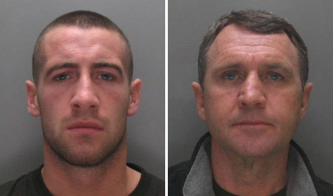 In 2013 the NCA issued images of Michael Paul Moogan (left) and Robert Stephen Gerrard, who were wanted in connection with the importation of cocaine to the UK. Both have now been arrested.