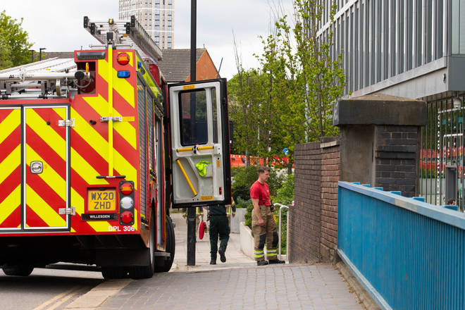A range of emergency services were sent to the scene