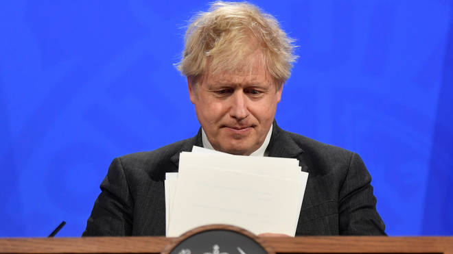 Boris Johnson will outline the lifting of restrictions from 17 May