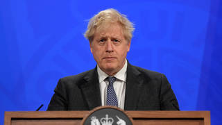 Boris Johnson is set to hold a Covid-19 press briefing later this afternoon