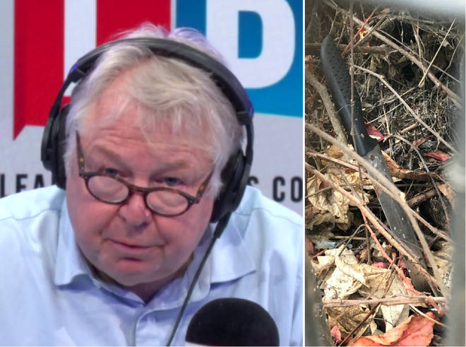 Nick Ferrari had strong words for Theresa May