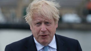 """Boris Johnson has pledged the reforms will be """"rocket fuel"""" for his levelling-up agenda"""