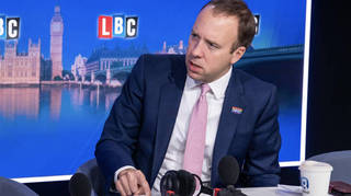 "Health Secretary Matt Hancock told LBC the government's plans for social care reform are ""long term"""
