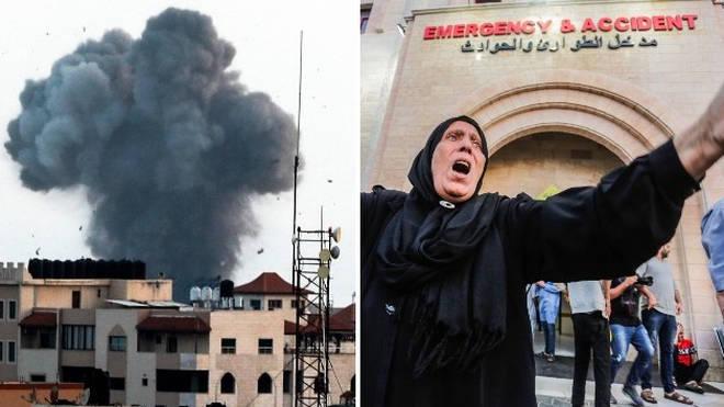 Nine children have died in Gaza during air strikes by Israel