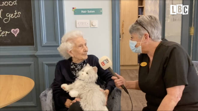 Residents of Admirals Court care home in Leigh-on-sea have benefitted from robo-pets