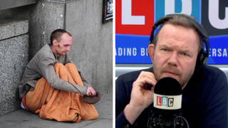 'I had to use street lights to read books', caller tells James O'Brien