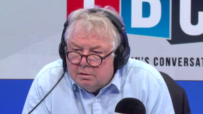 Nick Ferrari listening to this fascinating call from Ella