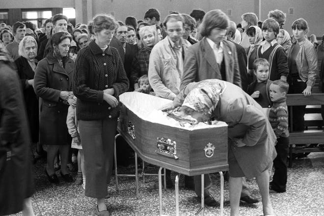 A Catholic priest was one of 10 people gunned down in Ballymurphy