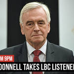 Watch LIVE: Iain Dale interviews former Shadow Chancellor John McDonnell