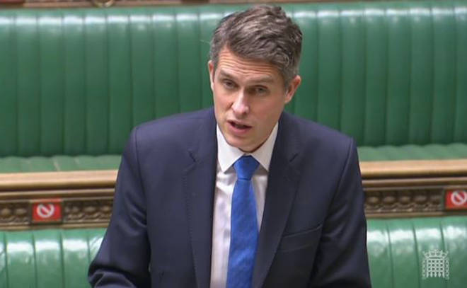 Gavin Williamson's comments came as the Higher Education (Freedom of Speech) Bill will be introduced in Parliament for the first time on Wednesday