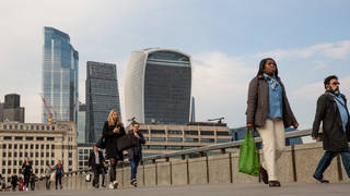 The economy shrank 1.5% during the first quarter of 2021, new figures have shown