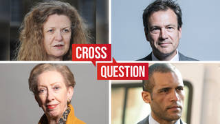 Watch LIVE: Cross Question with Iain Dale from 8pm