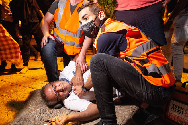 Violent clashes in Jerusalem have pushed the Israeli-Palestinian conflict to near crisis point