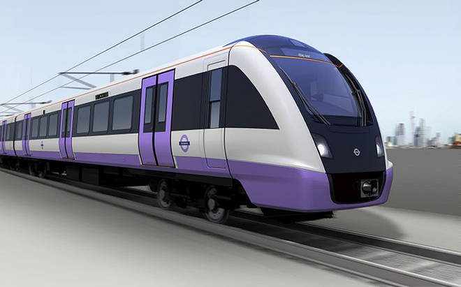 London's Crossrail is testing trains on the track ahead of a planned 2022 opening, four years behind schedule