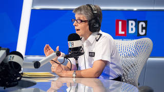 Call The Commissioner: Cressida Dick answers listeners' questions   Watch Live from 8AM