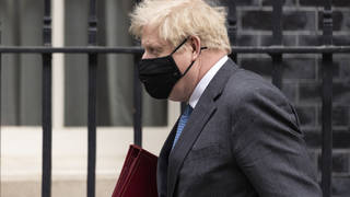 A county court judgment against Boris Johnson for a debt of £535 was issued over a claim of defamation
