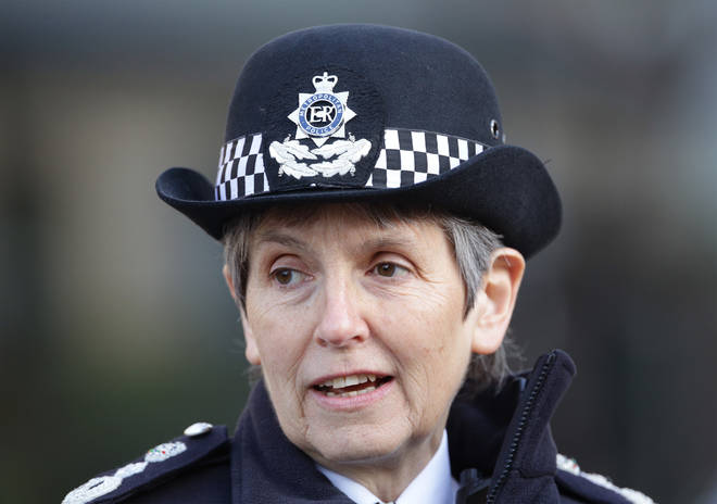 Metropolitan Police Commissioner Cressida Dick is live in the LBC studio from Friday at 8am