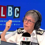The Met Police Commissioner was taking questions from LBC listeners