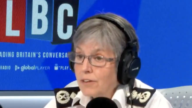 Dame Cressida Dick spoke to LBC's Nick Ferrari on Friday during Call the Commissioner