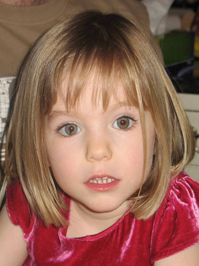 Madeleine was three years old when she went missing on May 3 2007 while on holiday in Portugal