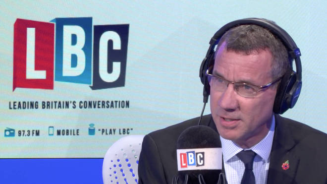 Mark Regev was live on LBC speaking to listeners