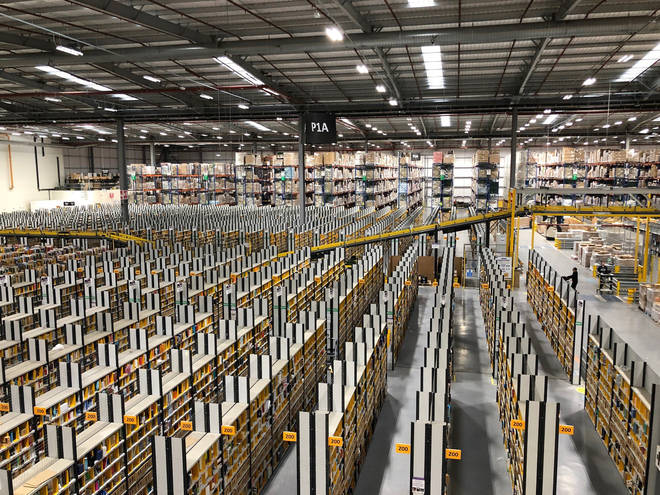 Amazon's Dunfermline Fulfilment Centre was evacuated in September 2020 because of Ovidijus Margelis' explosive devices.